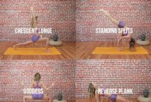 Yoga poses for glutes