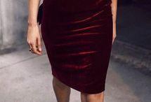 dress velvet