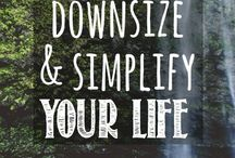 Simplifying my Life / Ways to de-clutter and simplify my Life