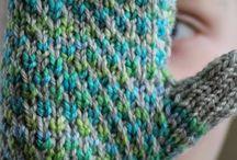 knitting ..