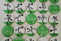 Perníčky fotbal Football cookies