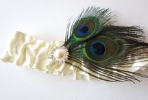 Peacock Feather Themed Wedding