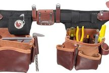 Belts, Bags And Boxes / Tool organization in the form of belts, bags, organizers, caddies, suspender systems, holsters, pouches, cases, and boxes!