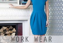 Work Wear Wardrobe / Having trouble finding something suitable to wear for work?  Why not reboot your work-wear wardrobe with these ideal looks.