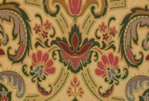 Tapestry period fabrics / A range of British tapestry textiles from Watts & Co