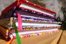 Cuadernos artesanales / Arte en carton y tela artesanal