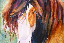 Art Horses Modern style