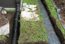Lawn Water Drainage