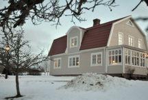 Varmgrå hus