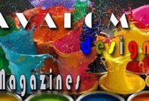 Avalom designs Magazines / Información sobre páginas de revistas online.