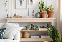 muebles plantas