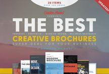 Creative Brochure Template PSD / In this post we are going to display you various creative brochure templates. Usually most of the brochures we see are similar and boring. You need not have to  create a regular and boring brochure design for your next project. You can create a creative and eye catching brochure by using these brochure templates.