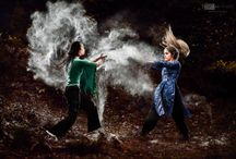Dust and dance/martial arts