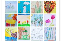 Display / Display art work, homeschool pin board,  create collections for all to enjoy