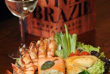 Fish Dishes / Brazilian fish dishes available at Viva Brazil Restaurants