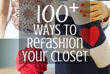 Refashion old clothes