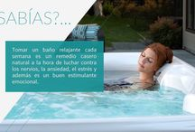 Datos curisos / Entérate de lo que aún no sabías sobre los beneficios de los spas y la relajación.