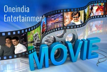 """Entertainment / """"www.filmibeat.com gives you bollywood gossips, tamil, telugu, malayalam, kannada and hollywood movie news. You can also watch videos.""""  / by Oneindia"""
