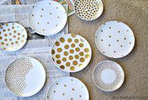 Diy plate art