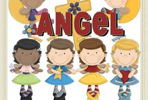 Clip Art - Angels / You can find all of the angel clip art packages I offer here :: http://www.clip-art-designs.com/clip-art/angel-clip-art