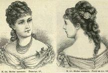 прически 1870е
