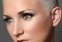 women with Shaved hair