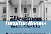 FOCUS | White House Makeover / Using Steelyard and a few other favorite resources, seven interior designers – Gary Inman, Eric Haydel, Ashlina Kaposta, NarDesignGroup, Steve McKenzie, Joy Moyler, and Steelyard's own Steven Avitable – reimagined a few rooms in the White House. Though this was just a fantasy design exercise, 1600 Pennsylvania Ave has never looked so fresh.
