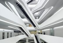 Zaha Hadid / The architecture of Zaha Hadid, the forst woman to win the Pritzker prize and the RIBA Gold Medal