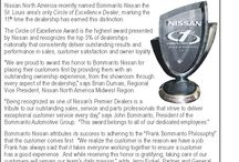 Bommarito Nissan Awards / See the awards that Bommarito Nissan Superstore in St. Louis has earned
