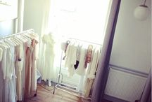 Our Vintage Bridal Showroom / Located on Old Street in the heart of Shoreditch, East London. Book your private appointment via our website: www.houseofvintageuk.com