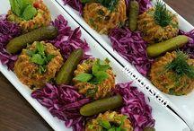 Salatalar-Mezeler / Az kalorili çok sağlıklı ve lezzetli salata meze çeşitleri