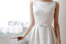 платье бел