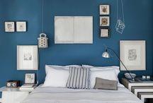 peinture bleu acier