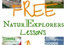 Outdoor Education / Educational materials to aid in teaching children about nature, conservation, and the great outdoors
