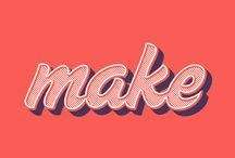 Design: Type – Lettering
