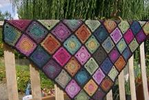 Crochet plaid ~ crochet blanket