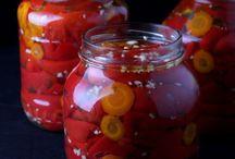 Kisela paprika za zimu