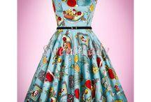 Krásne vintage šaty