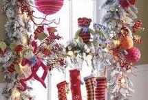 Christmas windows