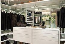 Walkin closet / Garderobe