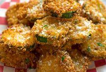 crunchy zucchini parmesan