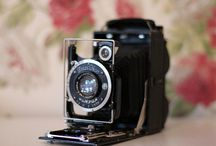 """Vintage Camera / """"You could take a picture of something you see In the future where will I be?""""  COLDPLAY - Talk / by Julie"""