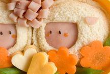 Cute kids food