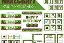 mindcraft birthday ideas