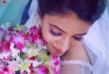 Bridal Make-Up / Crystalline studio • wedding • india • indian • indian wedding • weddingdresses • mehendi • details • sweet • cute • gorgeous • fabulous •stylist • hairstyle • eyes • lips • muah • makeup • bridalmakeup • makeup for brown eyes • brown • idea • • inspiration • trendy • jewels • hairstyle • cyriac joseph