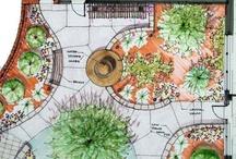 Trädgårdsritning / by Magdalena Jansson