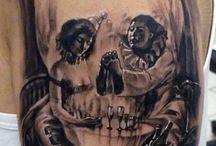 Clown Tattoos