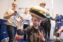 GoCook at Irma Mad & Glæde 2015 / In March 2015 we designed and produced a large food event for children at a festival in Copenhagen. 2.500 children visited the festival during the weekend.