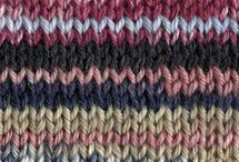 Knit/colour kombos