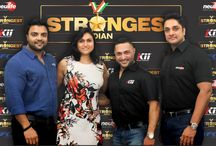 Launch of Strongest Indian / 'Strongest Indian' – India's first television strength reality show is a joint IP between Steel Strength Productions LLP and Media World Ventures Limited and will be partnered by Goa Tourism Development Corporation Ltd. The winner of the show will represent India at the World Strongman Federation – World Cup 2015 competition. The winner will be awarded cash price of 5,00,000. The competition is open for all who wish to participate.  visit: www.strongestindian.com